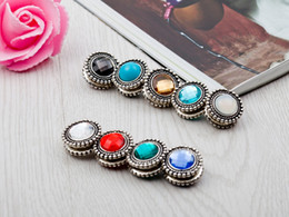 Wholesale Muslim Pins - Wholesale- New Fashion Plastic Muslim Headscarf Abaya Khimar Magnetic Hijab Scarf strong Magnet Pin