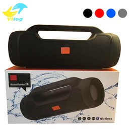 Wholesale portable speaker design - Charge8 Fashion designed splashproof portable wireless bluetooth mini speaker high-quality built-in rechargeable battery powerbank