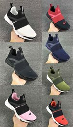 Wholesale Boot Socks Boys - 2017 Air PRESTO EXTREME GS Men Women Sneaker High Quality Mesh Presto 3 Sock Boots Trainers Shoes Size 36-45 Boy First Walkers shoes