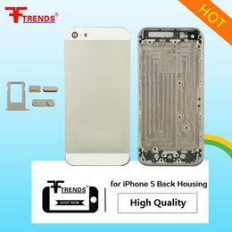 Wholesale Housing For Iphone Oem - OEM High Quality A+++ for iPhone 5 5C 5S 6 6Plus 6S 6SPlus Plus Housing Back Battery Cover Mid Frame Rear Metal Door