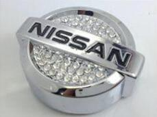 Wholesale Car Accessories Nissan - Free shipping Perfumes Car Perfume Seat Outlet Perfume Emblem Badge Logo in car Interior Accessories For Nissan KIA Volv