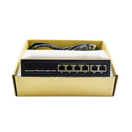 Wholesale Poe Powered Switch - package 4 Port IEEE802.3af 100Mbps 2 layer full Duplex high power Over Ethernet IP Camera Network Switch AP Devices Network POE Switch
