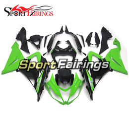 Wholesale Kawasaki Zx6r Fairings Black Green - Injection Fairings For Kawasaki Ninja 636 ZX-6R ZX6R 13 14 2013 2014 Sportbike ABS Motorcycle Fairing Kit Body Kits Green Black Fittings New