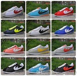 Wholesale Shell Toes - 2017 Big size EUR36-48 DORP SHIPPING brands Casual Shoes men women cortez shoes leisure Shells shoes Leather fashion outdoor Sneakers drop