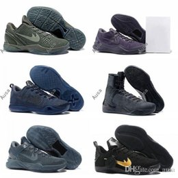 Wholesale Race Collection - New Kobe 6 7 8 9 10 11 EIite FTB Fade to Black Collection Kobe Bryant Black Mamba Pack Kobes Men Basketball Shoes Sports Sneakers