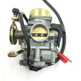 Wholesale Scooter Carbs - Carburetor Carb 250c Scooter Moped Motor 30mm YP250 For Yamaha Majesty 250 CVK30
