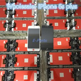 Venta al por mayor- Para iPhone 6s Plus Sin pixel muerto Pantalla LCD Pantalla táctil Pantalla táctil con pegamento frío Marco fuerte Montaje completo Buen toque 3D desde fabricantes