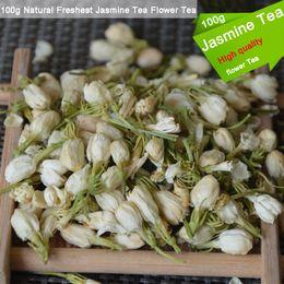 2019 comida natural Té orgánico más fresco natural 100g de la pérdida del peso del cuidado orgánico de la salud del té de la flor del jazmín del té comida natural baratos