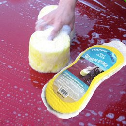 Wholesale Tools For Cleaning Cars - 22*11*4.5cm Small Honeycomb Sponge Cleaning Sponge For Car Washing Home Cleaning Tools