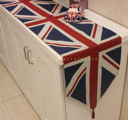 Wholesale 33 cm classic British table flag tablecloth long table style decorative pad explosion support mixed batch
