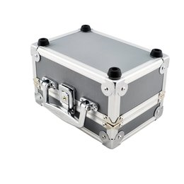 Wholesale Dentist Led Lamp - Wholesale-Free Shipping Dentist Dental Binocular Loupes Optical Glass Loupe Led Head Light Lamp Aluminum Tool Box Case Container