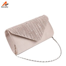 Wholesale Clutches For Wedding - Wholesale- 2016 New Classic Diamond Shoulder Bag Laides Clutches Bag Eveningbag Handbags For Bridal Wedding Day Cluthes Ausuky Brand 45