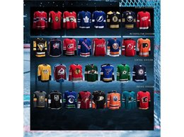 Wholesale New Full Size Black Jersey - 2017-18 Season New Style Any Team Custom Hockey Jersey 100% Stitched Embroidery Hockey Jerseys Any Name Number Color Size Mix Order