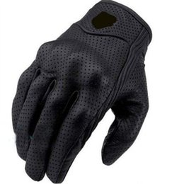 Wholesale Quality Moto - High quality Moto Racing Gloves Leather motorcycle glove motor racing gloves Leather Motorcycle bikers leather gloves out260
