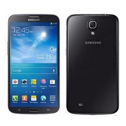 Wholesale Unlocked Gsm Cellphones - Original Samsung GALAXY Mega 6.3 I9200 GSM 3G Unlocked Dual Core 1.7 GHz RAM 1.5GB ROM 16GB 8MP 2MP Android 4.2 smartphone