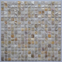 Wholesale Wall Sticker Natural - Seamed natural White shell tiles, Mother of Pearl Shell Kitchen Backsplash  Bathroom home wall decoration mosaic tiles sticker,LSBK1001 2