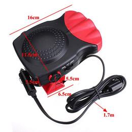 Wholesale Fan Drive - 150W Protable Auto Car Heater Heating Cooling Fan Windscreen Window Demister DEFROSTER Driving Defroster Demister 12V free shipping