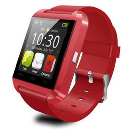 Wholesale Waterproof Cell Phone Watches - DHL Free Bluetooth Smartwatch U8 U Watch with Altitude Wrist Watches for iPhone Samsung HTC Sony Cell Phones Android Phone