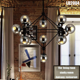 Wholesale Modern Italian Living Rooms - Pendant Lamps (4 5 8 10 16 15 21-Heads)italian lighting living room Porch lighting Living Room Pendant Wall Lamp Light Lighting