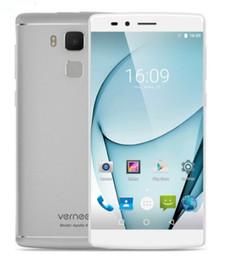 Wholesale Google Android Mtk - Original Vernee Apollo X Android 6.0 4G SmartPhone 5.5inch FHD MTK Helio X20 Deca Core 4GB RAM 64GB ROM 13MP Fingerprint