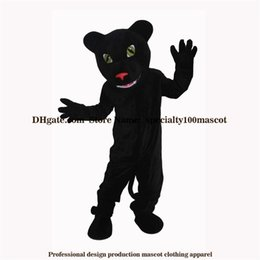 Wholesale Leopard Costume Adult - High quality carnival adult Panthers mascot costume free shipping,Real pictures deluxe party the leopard mascot costume factory direct