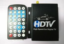 2019 armaturenbrettsystem 12V-24V Auto HDTV High Speed Auto ATSC Nordamerika Digital TV Receiver Box voller Seg mit Tuner Antenne Fernbedienung