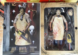 "Wholesale Neca Toys Wholesale - NECA Texas Chainsaw Massacre Leatherface8"" 20CM NECA Texas Chainsaw Massacre Leatherface Clothed PVC Action Figure Collectible Toy Hammer Le"