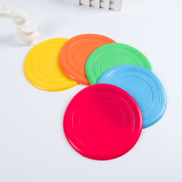 Wholesale Soft Flying Disc Dogs - Silicone Dog Frisbee Flying Disc Tooth Resistant Soft Puppy Outdoor Pet Dog Play Foldable Training Fun Fetch Toy wa3211