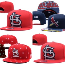 Wholesale Wholesales St Louis Cardinals Baseball Cap Embroidered Team logo Fitted Cap Sport Fit Hats Colorfull