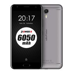 Wholesale Gps Main - Original Ulefone Power 2 4G Phablet 5.5 inch Smartphone Android 7.0 MTK6750T Octa Core 1.5GHz 4GB RAM 64GB ROM 13MP Main Camera