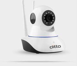 Capteur infrarouge étanche en Ligne-Caméra wifi sans fil 720P HD caméra wifi 802.11b / g réseau P2P IR caméra de sécurité étanche extérieure avec capteur d'alarme