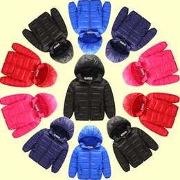 Wholesale Baby Boy Winter Jacket Hoodies - Baby Kids Clothing Outwear Coat 2016 winter Fashion boys Casual Hoodie long sleeve cotton-padded coats jacket children's clothes