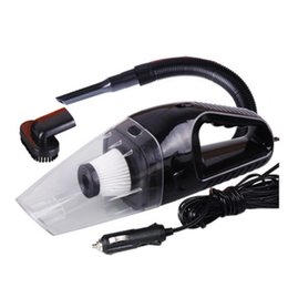 Wholesale 12v Handheld Vacuum Cleaners - Wholesale- 2016 New 12V 120W Suction Mini Vehicle Car Handheld Vacuum Dirt Cleaner Wet & Dry
