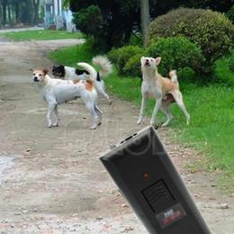 Wholesale Ultrasonic Dog Bark Stopper - New 1PC Ultrasonic Aggressive Dog Pet Repeller Anti-Bark Barking Stopper Deterrent Train