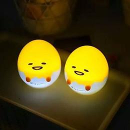 figura de iluminación led de halloween Rebajas Huevo mini lámpara linda pequeña noche luz figura regalos del niño novlty mini luces de la noche huevo luz suave