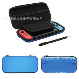 Wholesale Nintendo Cartridge - Hgin quality carrying case EVA hard shell zip bag case For Nintendo Switch with 10 game card cartridge holder