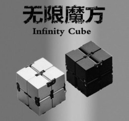 Wholesale infinity cube new fidget toy the world s first American decompression anxiety Toys high quality fidget cube cm infinity cube