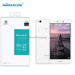 Wholesale Nillkin Screen Protector - Wholesale- Huawei P8 Lite 2017 NILLKIN Amazing H Anti-Explosion Tempered Glass Screen Protector Film For huawei nova lite (5.2'')