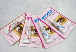 Wholesale Duo Water Proof - 2017 chirstmasFactory Direct 100pcs lot DUO Water-proof Eyelash Adhesives (glue) 9G White BlacK Make Up Tools Professional DHL Free Shipping