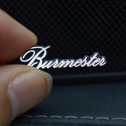 Canada Style de la voiture Intérieur 2pcs AMG style autocollant Burmester pour Mercedes benz A B C E Offre