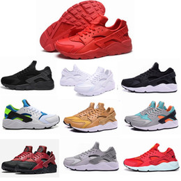 Wholesale Men Free Trainer Running Shoes - AAA Quality Air Huarache Ultra running shoes Huraches Running trainers for men women outdoors shoes Huaraches sneakers free shipping Hurache