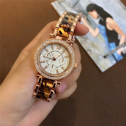 Wholesale Michael Watch Men - 2019 New style Men Women's Michael calendar watch Quartz diamond watches rose gold and silver