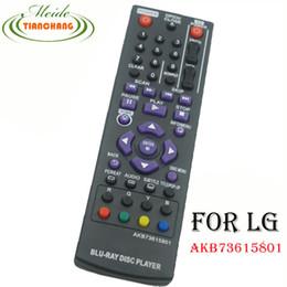 Wholesale Blu Ray Disc Player - Wholesale- New Remote Control For LG Blu-ray Disc Player Remote Control AKB73615801 BP320 BP200 BP325W