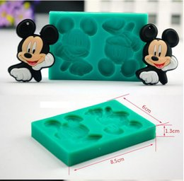 Wholesale Tool Cakes - 3D Silicone Mold Fondant Cake Molds Cupcake Mould Decorative Cakes Tools Fimo Free Shipping