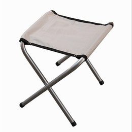 Wholesale Small Outdoor Chairs - Wholesale- Outdoor folding chairs portable fishing chairs outdoor leisure picnic folding camp chair train a small stool