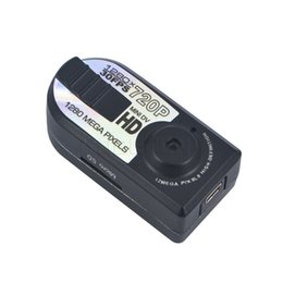 Wholesale Camera Miniature - Wholesale- Smallest Full HD 720P Mini DV DVR Camera mini Camcorder Night Q5 miniature camera infrared night vision mini camera shoot