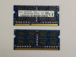 Wholesale Dimm Ram - for HP EliteBook 8470w 8570w 2570p 8770w 8460w 8540 8560w Notebook Memory 4GB DDR3 1600MHz RAM 8GB 2Rx8 PC3L-12800MHz SO-DIMM