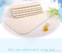 Wholesale Diapers Can - Baby diapers pad waterproof breathable neonatal maternal and child supplies cotton can wash diapers pad menstrual period pad