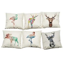 Print Pillow Case Starry Reindeer