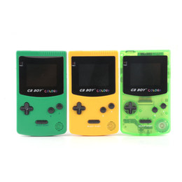 """Wholesale Gb Boy - NEWEST GB Boy Classic Color Pocket Handheld Game Console 2.7"""" Game Player with Backlit 66 Built-in Games display screen"""